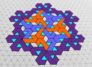"""""""Pinwheel Fancy"""" Coloring Pattern"""