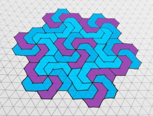 """""""Pinwheel Advanced"""" Coloring Pattern"""