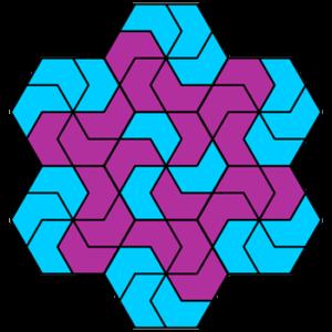 """""""Basic Pinwheel"""" Coloring Pattern"""