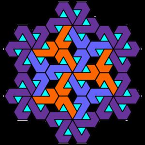 """""""Fancy Pinwheel"""" Coloring Pattern"""