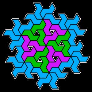 """""""Pinwheel Fancy-Schmancy"""" Coloring Pattern"""
