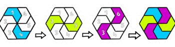 Coloring Geometric Patterns – 3 Color Designs