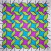 """""""Wind Rose"""" Coloring Pattern"""