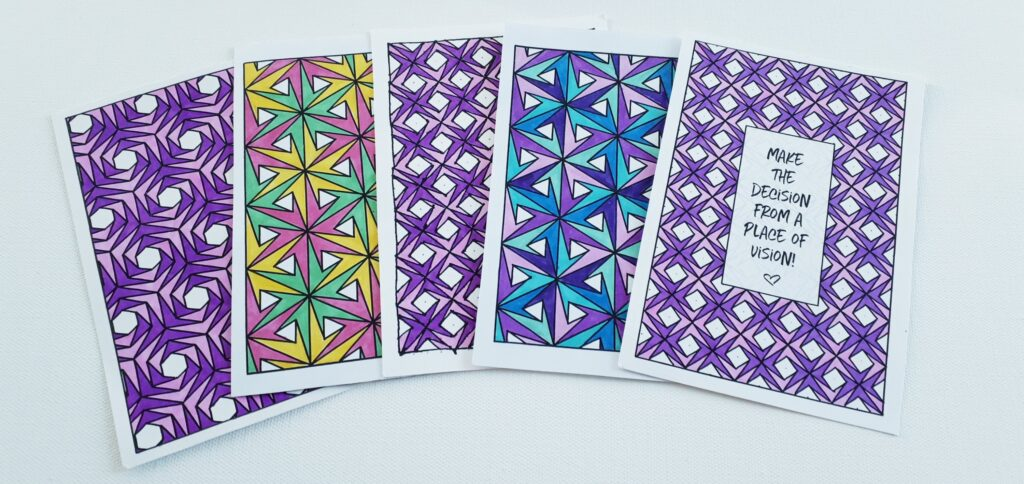 Shuttered Coloring Pattern