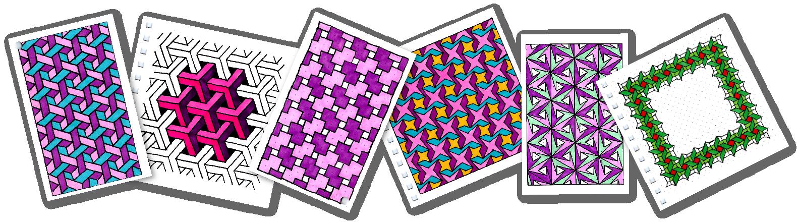 Hand Drawn DIY Coloring Patterns